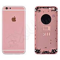 Корпус iPhone 6 (4,7), цвет розовый, имитация iPhone 6S (4.7), уценка