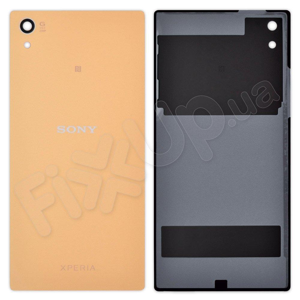Задняя крышка Sony Xperia Z5 (E6603, E6653, E6683), цвет золотой