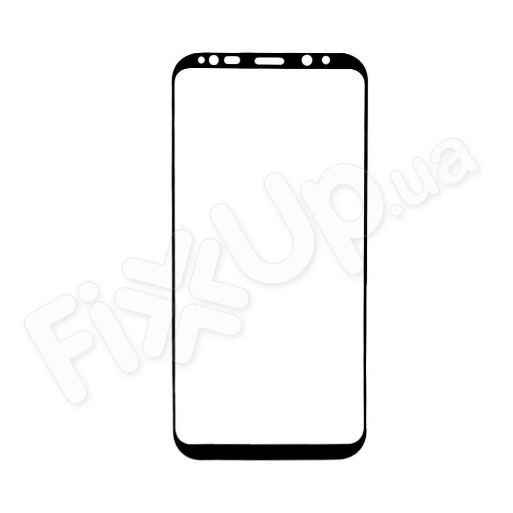 Защитное стекло для Samsung G955F Galaxy S8 Plus 3D, цвет черный