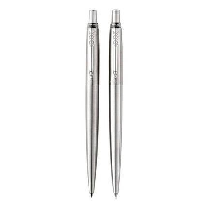 Ручка перьевая PARKER F41 Parker 45 стальная с позолотой, фото 2
