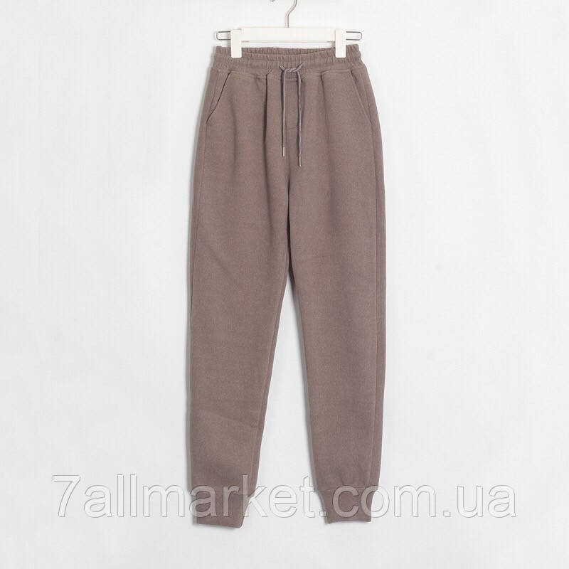 """Спортивные штаны женские на флисе с манжетами,р-ры 42-48 (6цв) """"CYKLONE"""" купить недорого от прямого постав"""