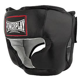Боксерський шолом тренувальний PowerPlay 3065 S/M Чорний КОД: PP_3065_S/M_Black