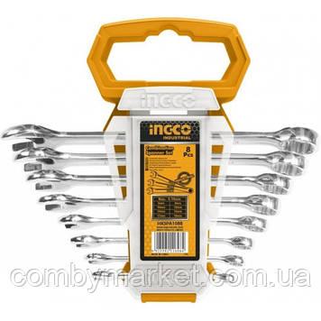Набір комбінованих гаєчних ключів INGCO HKSPA1088