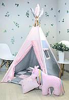 Вигвам, детская игровая палатка, шатёр «Нежный сон »
