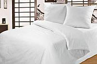 Полуторное постельное белье Белая, белорусская бязь 100%хлопок