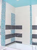 Глянцевый потолок в ванную в Днепре