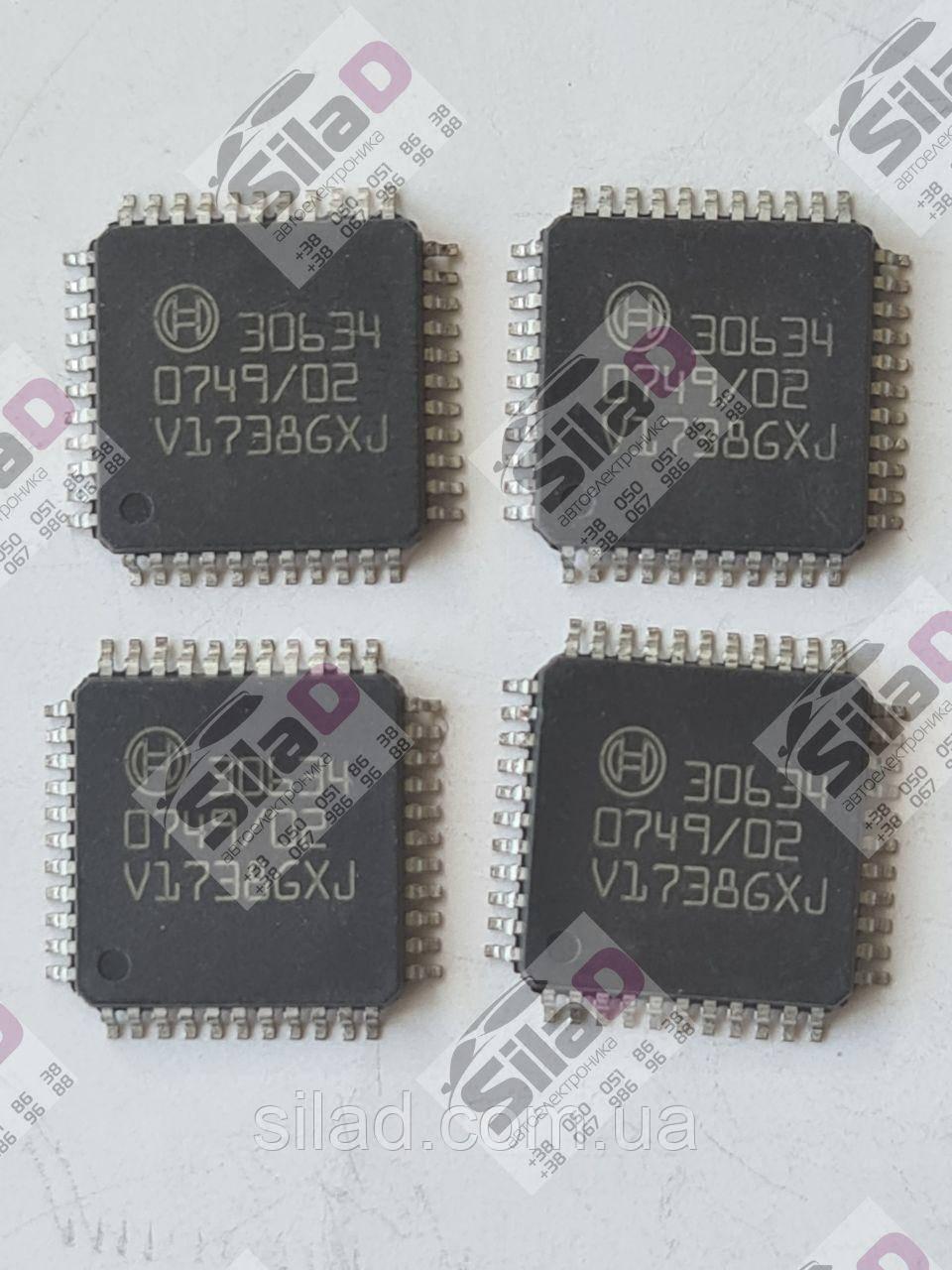 Микросхема Bosch 30634 корпус QFP44