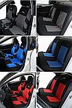 Чехлы на сиденья авто универсальные материал полиэстер Серого цвета, фото 4