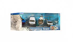 Набір транспорту TEAMA 22172 Поліція КОД: 22172P
