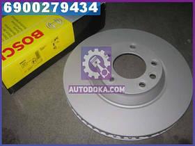 Диск гальмівний AUDI Q7, VW TOUAREG передн., вент. (пр-во Bosch)