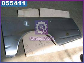 Панель боковины ГАЗ 2705 (арка) нижняя задняя левая (производство  ГАЗ)  2705-5401361