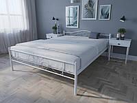 Кровать MELBI Лара Люкс Двуспальная 120х200 см Белый КОД: КМ-017-02-2бел