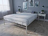 Кровать MELBI Лара Люкс Двуспальная 140х200 см Бежевый КОД: КМ-017-02-4беж