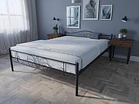 Кровать MELBI Лара Люкс Двуспальная 140х200 см Коричневый КОД: КМ-017-02-4кор