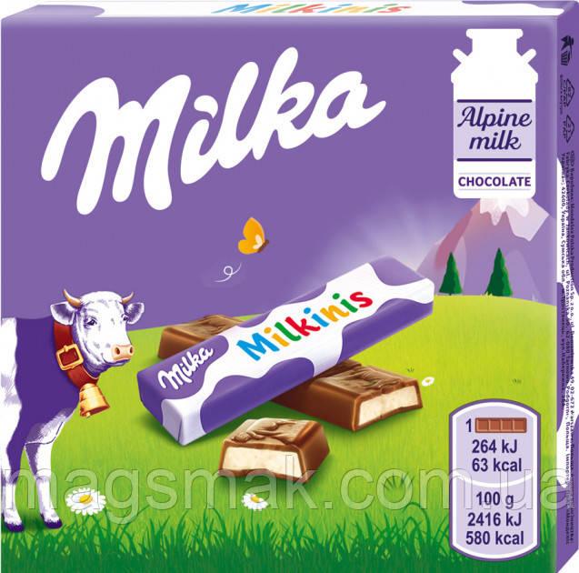 Шоколад Милка Милкинис, 43.75 г