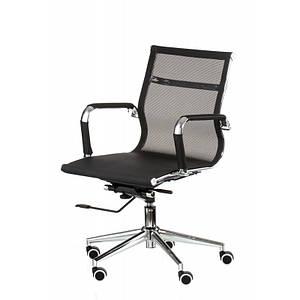 Офисное кресло Solano 3 mesh сетка черного цвета хром-колесики