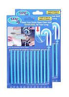 Палочки от засора раковин «Sani Sticks»