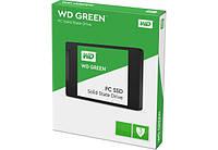 """Твердотельный накопитель 120Gb, Western Digital Green, SATA3, 2.5"""", TLC, 540/465 MB/s (WDS120G2G0A)"""