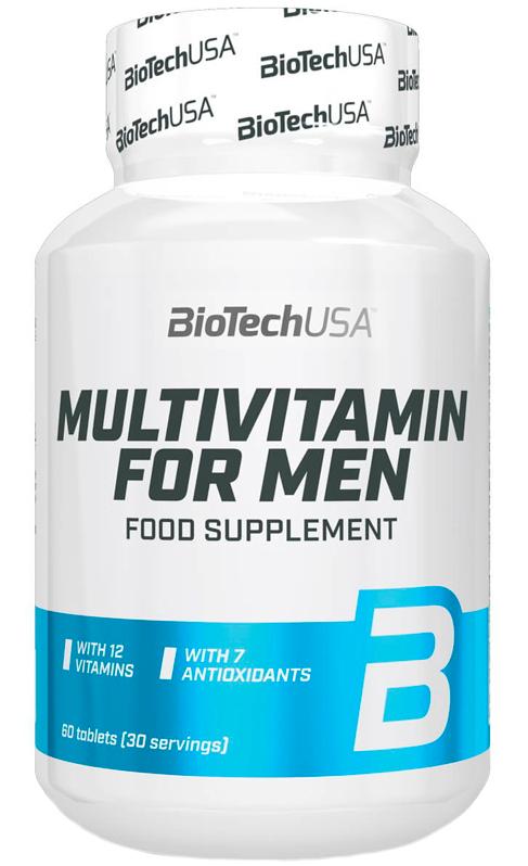 BioTech Multivitamin for Men 60 tabs