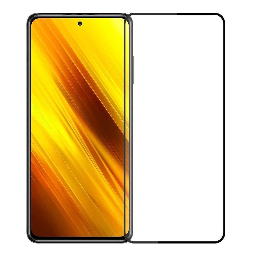 Pinwuyo Xiaomi Poco X3 / X3 NFC Curved Full Cover Tempered Glass Защитное Стекло