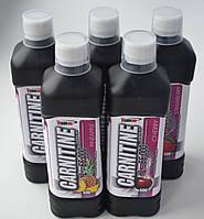 Набор из 4 шт. (VISION L-66 000 Carnitine 500 ml жидкий Л-карнитин Ананас, Грейпфрут, Клубника, Вишня)