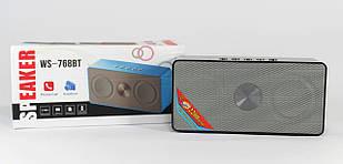 Портативная колонка WS-768BT с Bluetooth