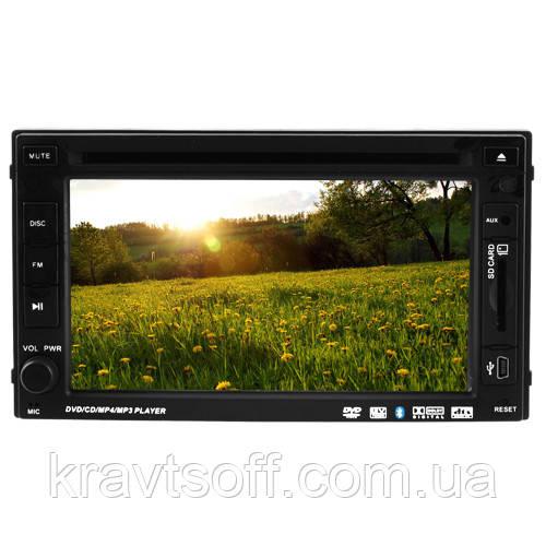 """Автомагнитола LUX 261HD, LCD 6.1"""", Bluetooth, FULL TUCH SCREN, TV-тюнер, 2-DIN, 4х50W"""