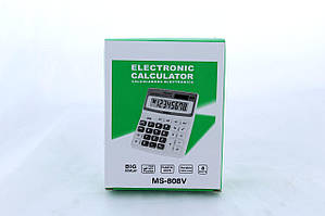 Настольный электронный калькулятор  MS 808 V
