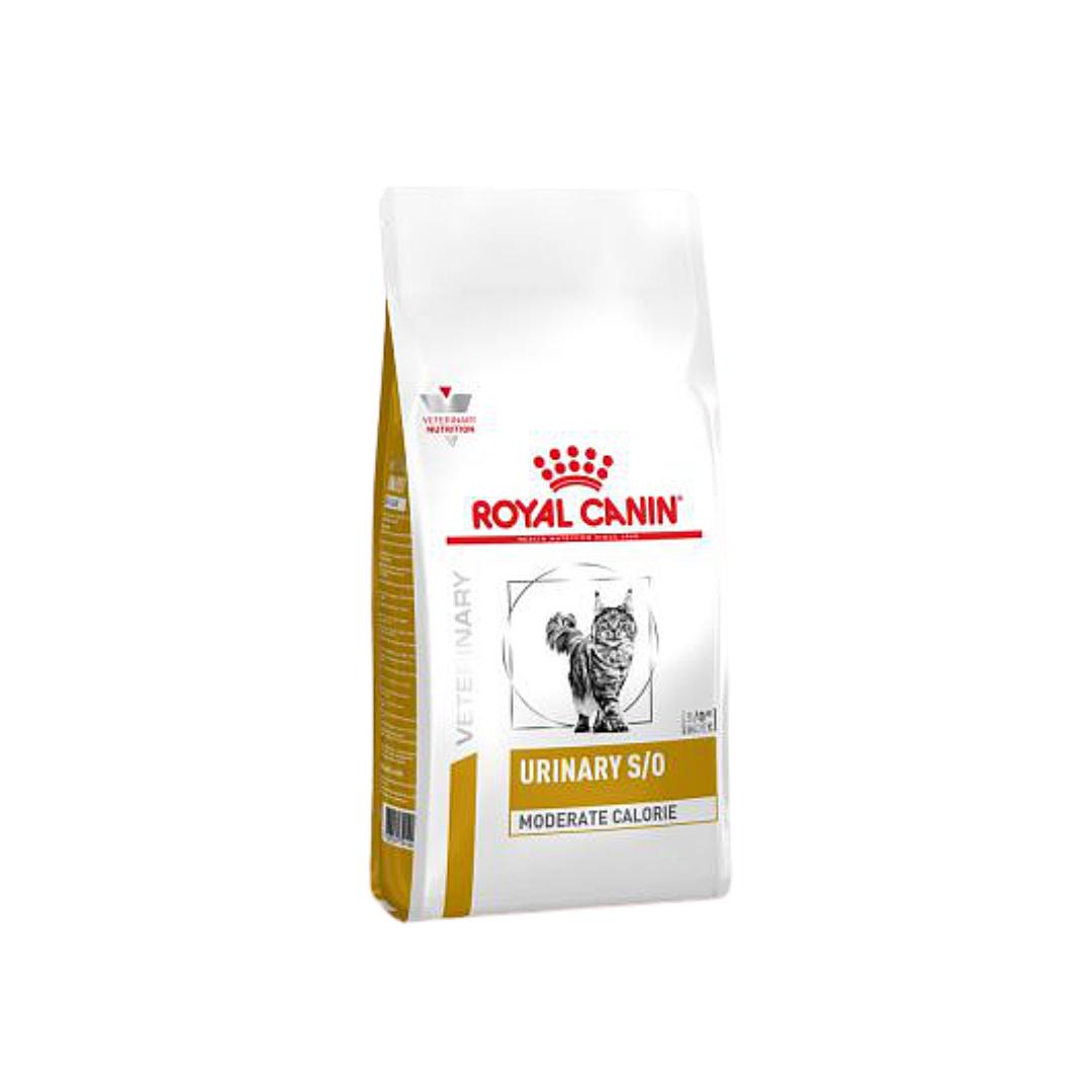 Дієта Royal Canin Urinary S/O Moderate Calorie Роял Канін Урінарі С/О Модерате Калорі для кішок 9 кг