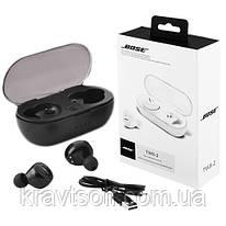 Bluetooth-наушники  BOSE TWS 2 с кейсом, black