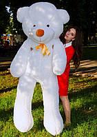Большой плюшевый мишка 2 метра, белый мягкий медведь, подарок для девушки