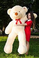 Большой плюшевый мишка 2 метра, персиковый мягкий медведь, подарок для девушки
