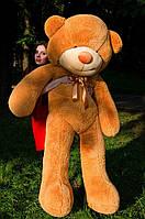 Большой плюшевый мишка 2 метра, карамельный мягкий медведь, подарок для девушки