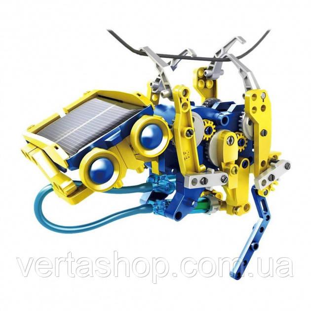 Конструктор робот SOLAR ROBOT PRO Animals на солнечной батарее интерактивный набор 11 в 1
