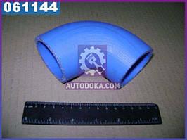 Шланг охладителя наддува ГАЗ 33104 ВАЛДАЙ угловой силиконовый (бренд  ГАЗ)  3310-1172117-01