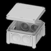 Коробка 85*85х40 розподільча накладна IB005 Plank Electrotechnic