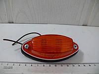 Фонарь габарита универсальный оранжевый 12-24v, фото 1