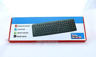 Классическая USB клавиатура для ПК, UKC KEYBOARD X1 K107