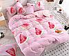 Полуторный комплект постельного белья 150х220 Ранфорс-хлопок 100% (15437)