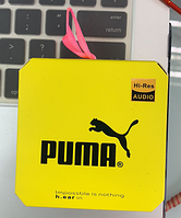 Наушники вакуумные PUMA--T10 с микрофоном