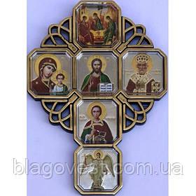 Иконостас середний 8х11см. (№3)