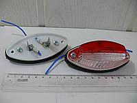 Фонарь габарита универсальный белый/красный 12-24v1, фото 1