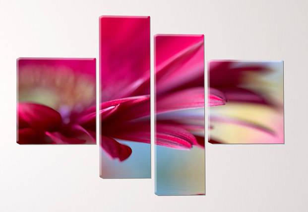 """Модульная картина """"Красивый цветок"""", фото 2"""