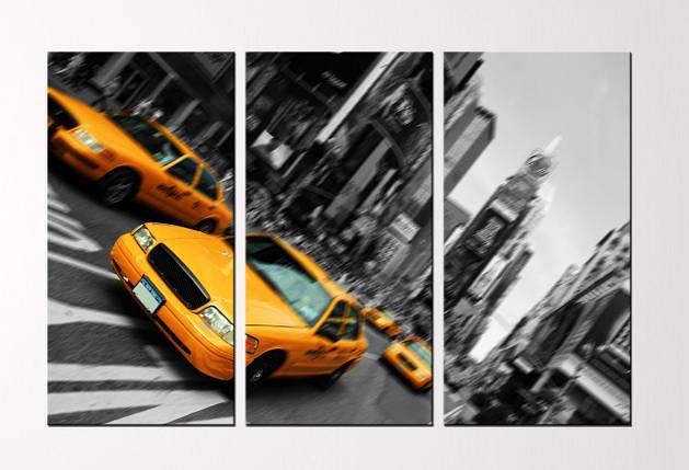 """Модульная картина """"New York"""", фото 2"""