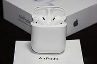 Наушники гарнитура Apple беспроводные белые AirPods 2 с чипом Джили sale