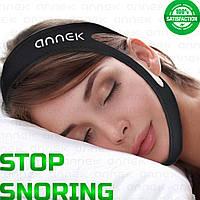 Антихрап повязка от храпа на голову средство приспособление для сна универсальное для лечение храпа и апноэ