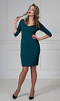 Женское приталенное платье Доминикана А3