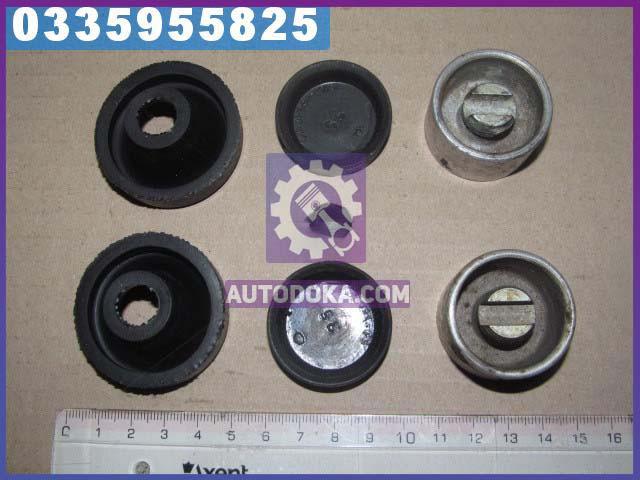 Ремкомплект цилиндра тормозного переднего ГАЗ 53, 3307 (РТИ и поршня, полный)  4301-3501040