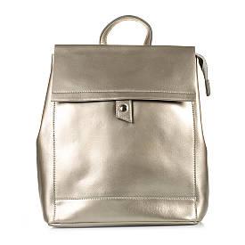 Рюкзак кожаный Casa Familia S10-3225-02 серая