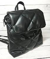 Рюкзак женский стеганный B.Elit (Би Элит), черный ( код: IBR118B ), фото 1